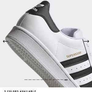 Adidas Superstar classic black & white sneakers